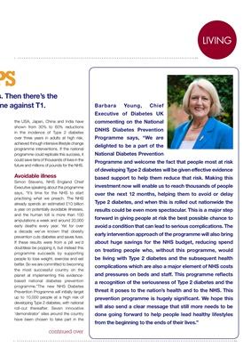 Diabetes UK Baroness Barbara Young