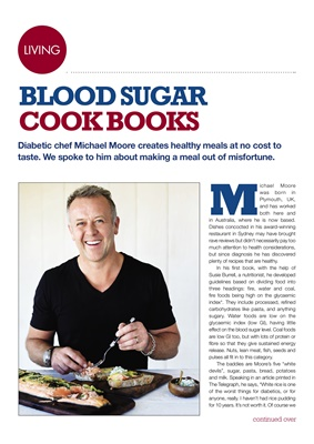 Michael Moore Blood Sugar cookbooks for people with diabetes