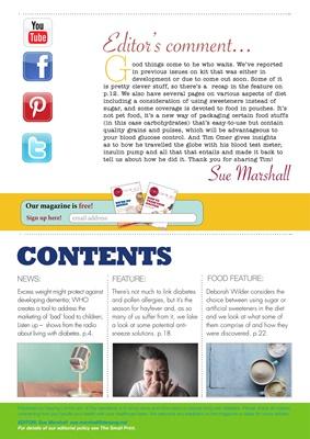 Desang diabetes magazine diabetes information