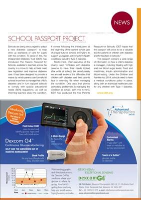 Desang diabetes magazine diabetes news Dexcom CGM