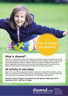 Diasend easy diabetes communication