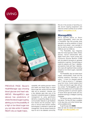 diabetes health apps and managers