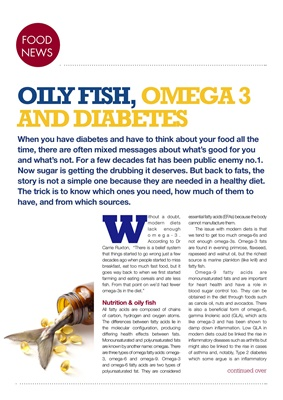 omega 3 and diabetes