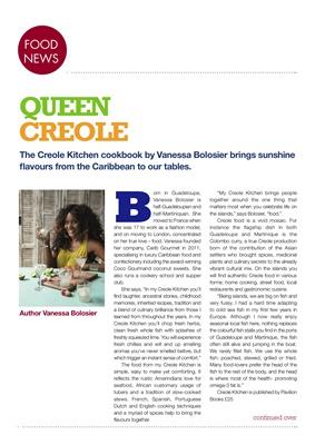 Vanessa Bolosier The Creole Kitchen