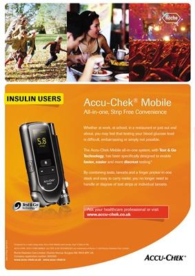 Accu-Chek Mobile blood glucose system