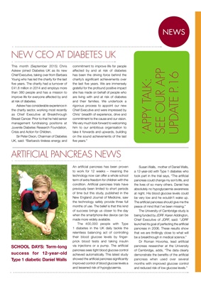 Artificial Pancreas News, Type 1 Diabetes,