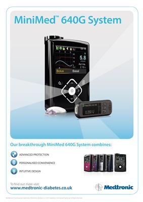 insulin pump Medtronic diabetes