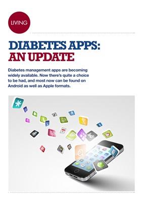 Diabetes management apps