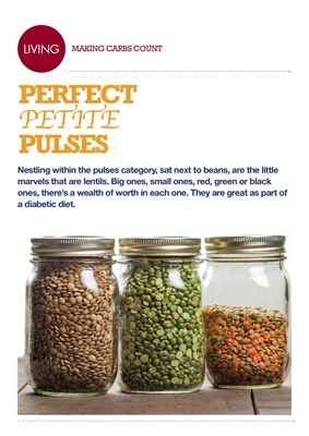 Making Carbs Count lentils