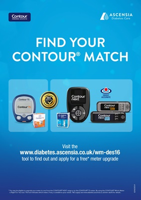 Ascensia Contour Diabetes blood test meters