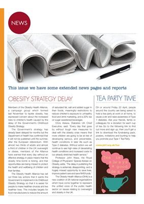 diabetes news Chris Askew Diabetes UK obesity strategy