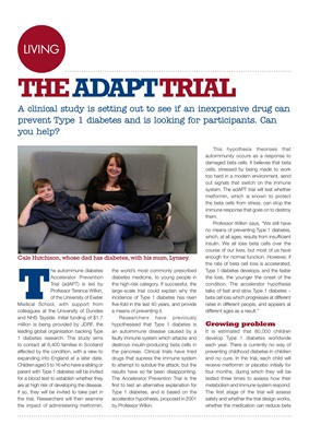 the ADAPT trial type 1 diabetes prevention