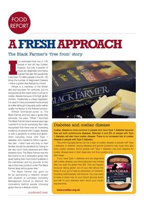 Coeliac and diabetes The Black Farmer