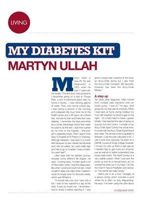 Diabetes Kit, my diabetes kit