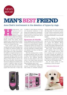 Accu-Chek Mobile blood glucose system, Medical Detection Dogs, Limited Edition Accu-Chek Mobile pink