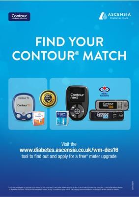 Ascencia Contour Diabetes blood test meters