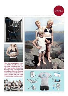 insulin pump wear AnnaPS, diabetesia Sofia Larsson-Stern