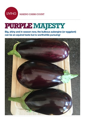 Making Carbs Count Aubergines