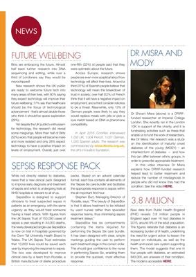 Diabetes news, Dr Shivani Misra, DRWF, diabetes, Sepsis Six