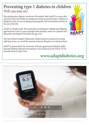 AdAPT diabetes trial, FreeStyle Libre