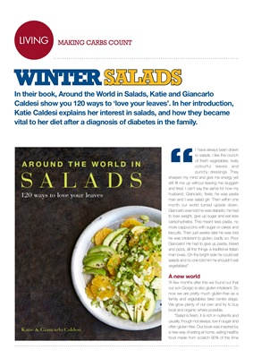 Making Carbs Count winter salads