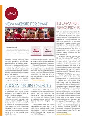 DRWF, diabetes news, Adocia insulin, Type 2 diabetes