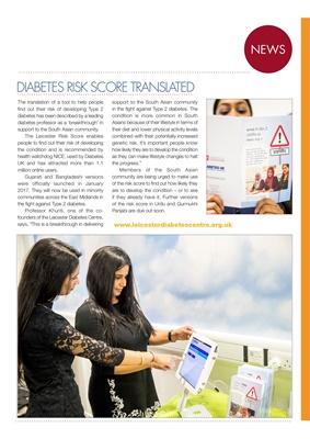 Diabetes Risk Score, Professor Khunti, Leicester Diabetes Centre