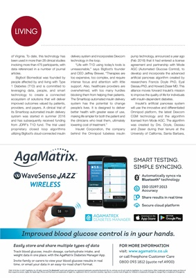 Agamatrix Wavesense Jazz Wireless, blood test meter and app