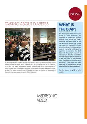 diabetes news, Medtronic, Medtronic Guardian Connect, BiAP