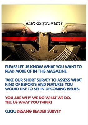 Desang diabetes magazine reader survey