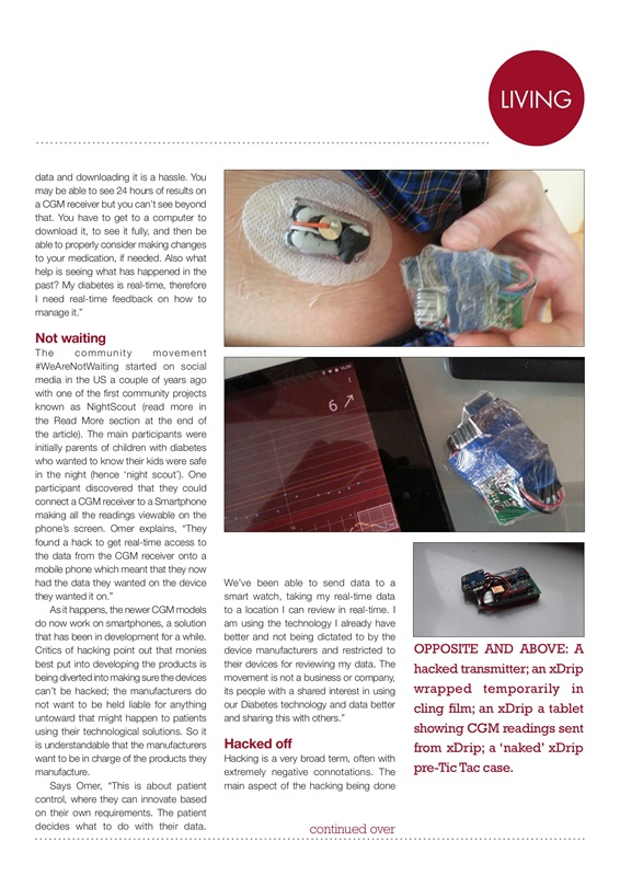 Tim Omer, hypodiabetic, nightscout, CGM hackers, CGM sensors