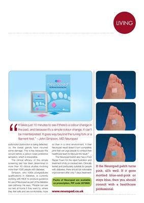 Neuropad diabetes footcare