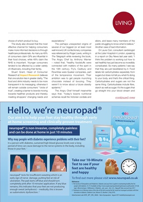 Neuropad diabetes footcare