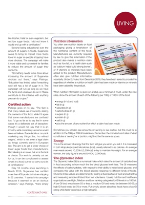 sugar in food labels for diabetes diet, how to read nutrition labels