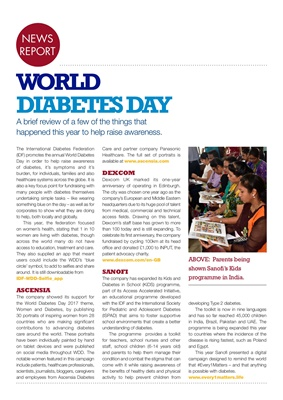 International Diabetes Federation World Diabetes Day 2017