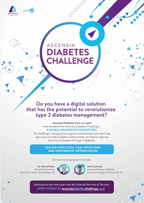 Ascensia type 2 diabetes digital challenge