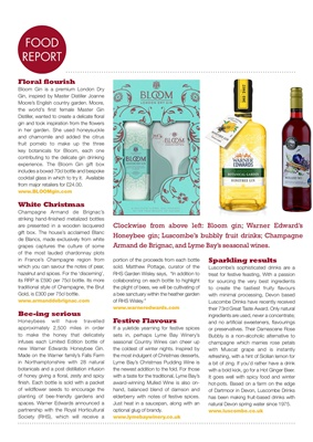 Bloom gin, honeybee gin, Luscombe drinks, Lyme  bay wines
