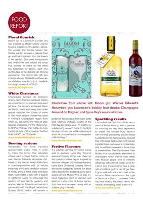 Bloom gin, honeybee gin, Luscombe drinks, Lyme  bay wines
