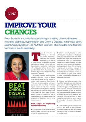 Fleur Brown, Beat Chronic Diseases, the nutrition solution