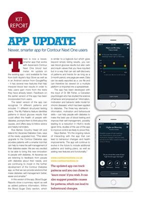 Contour Next One Diabetes app, Contour Next One blood test meter, Ascencia Diabetes