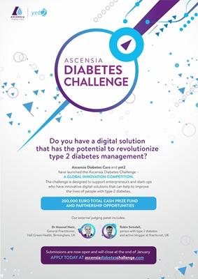 Ascencia Diabetes Care, Ascencia Diabetes Challenge Type 2 diabetes