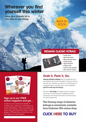 Desang diabetes kitbags, Diabetes UK Shop Desang diabetes kitbags