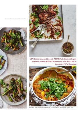 Chef Anjula Devi, Spice for Life by chef Anjula Devi