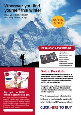 Desang diabetes kitbags, Diabetes UK Shop Desang diabetes kitbags
