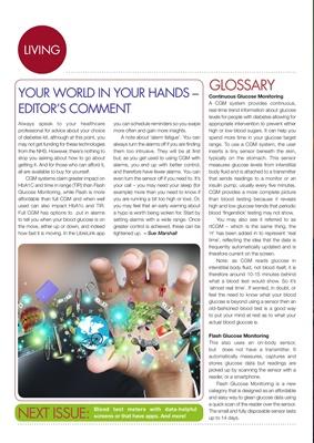 Continuous Glucose Monitoring, Flash Glucose Monitoring, Sue Marshall
