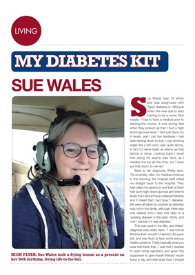 My Diabetes Kit, Sue Wales, Desang magazine