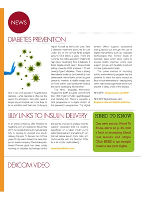 Desang diabetes magazine diabetes news, Dexcom