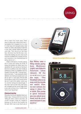My Diabetes Kit, Sue Wales, Desang magazine, FreeStyle Libre, Medtronic 640g
