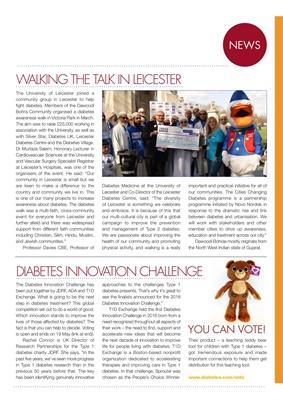 Leicester Diabetes Centre, JDRF, Rachel Connor JDRF, T1Exchange