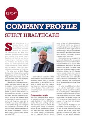 Spirit Healthcare, Chris Barker, Leicester, Empower